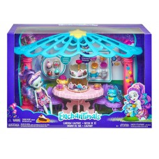 Enchantimals Garden Gazebo Playset with Patter Peacock Doll