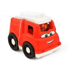 Fire Truck w/6 pcs