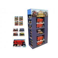 Hot Wheels Monster Truck Asst Display (67 Sellable units) Priced per display