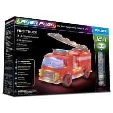 Laser Pegs Fire Truck 12-in-1 Building Set